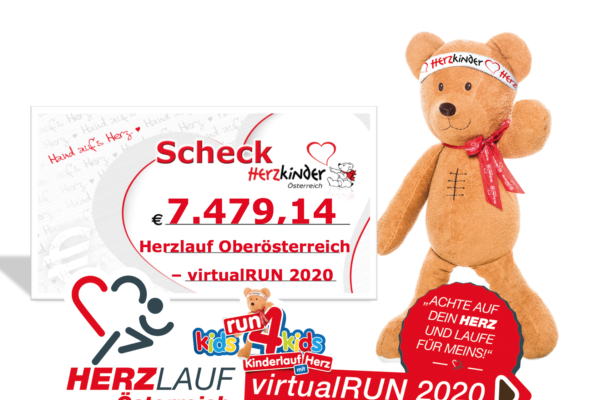 Scheck Herzlauf OÖ virtual RUN 2020